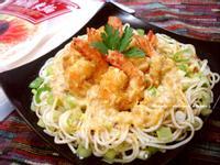 金沙蝦球醬拌麵