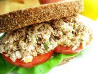 西西里蕃茄鮪魚三明治