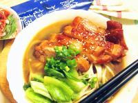 紅燒雞腿排麵(免燉)