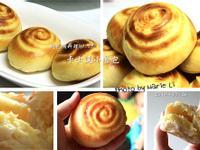 麵包機料理:迷人的卡士達小餐包
