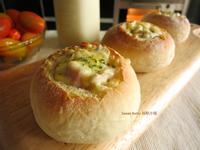 焗烤蘑菇法國麵包球