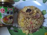 『牛頭牌端午好香拌』香椿蓮子香腸肉絲炒飯