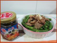 沙茶豬肉炒豆菜 『牛頭牌端午好香拌』