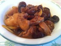 冰糖醬燒香菇栗子雞