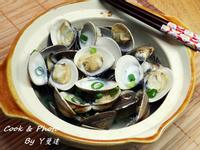 酒蒸蛤蜊~飛利浦氣炸鍋