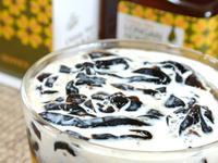 仙草蜜奶凍