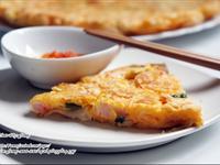 泡菜蒟蒻蝦仁煎餅