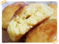 柔軟椰香奶酥麵包(免揉配方&自製奶酥)