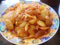 台式泡菜炒年糕片
