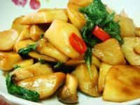 塔香杏鮑菇