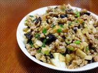 肉燥燴雞蛋豆腐