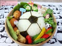 ♥足球便當♥(上田太太愛料理)