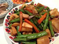 豆角炒筍(素)K for Kitchen