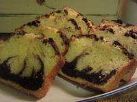 蛋糕2---土式雙色巧克力蛋糕