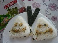 起司三角海苔飯糰─「元本山海苔」