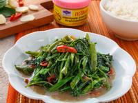蝦醬炒空心菜