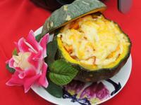 富貴黃金南瓜盅♞飛利浦氣炸鍋