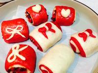 甜菜根蔓越莓饅頭(麵包機食譜)