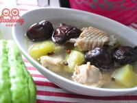 佛手瓜馬告風味雞湯【我與大同美味燉湯】