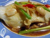清蒸鱈魚【豆豆愛的料理】