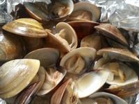 錫箔烤蛤蜊