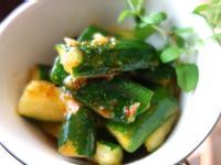 影音示範教學 韓式涼拌小黃瓜