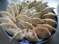 素食瓠瓜水餃(飛利浦愛麵機)