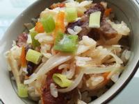 免動鍋~免炒~絕對簡單~竹筍臘味煲仔飯