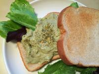 酪梨優格抹醬三明治 (奶蛋素)