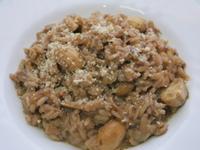 義式奶油蘑菇燉飯