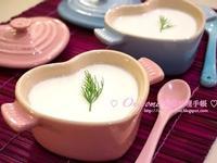 椰汁鮮奶布甸