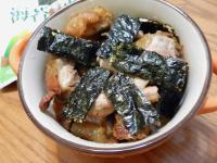 烤無骨雞腿肉+海苔堅果 【元本山海苔】