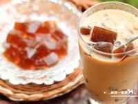 自製-咖啡凍鮮奶茶