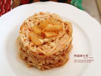 韓式泡菜炒金針菇 | 熊貓眼女孩