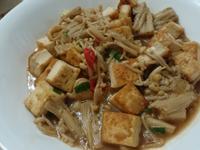 [豆類]金針菇燴豆腐