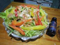 雞肉彩椒沙拉