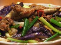烤鴨燒紫茄