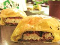 簡易小點心-起酥肉鬆海苔包「元本山海苔」