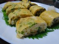 玉子燒(だし巻き卵)(蔥和海苔兩種口味)