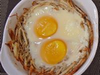 【懶小希】馬鈴薯「鳥巢蛋」