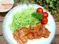 洋蔥薑燒肉片及高麗菜絲切法
