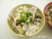 肉片蛤蜊味噌湯