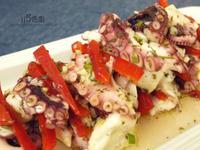 地中海涼拌大章魚