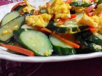 小黃瓜炒蛋【食在養生】