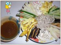 韓式什錦冷麵