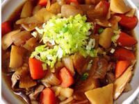 馬鈴薯燉肉(火鍋肉片)可素食版