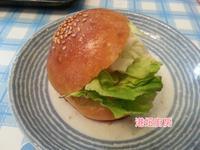 [港妞烘焙] 湯種漢堡麵包 簡單做