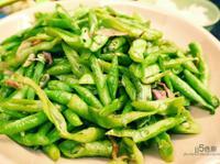 培根炒長豆