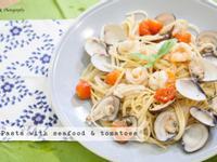 完美的蕃茄海鮮義大利麵食譜