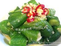 ♥憶柔蔬食♥蛇腹小黃瓜口感超脆好吃~素食
